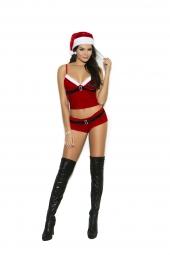 Elegant Moments 9172 Santa'S Helper Costume - 3 Pc