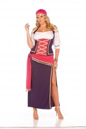 Elegant Moments 9225 Gypsy Maiden Costume - 5 Pc