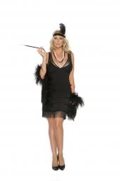 Elegant Moments 99051 Flapper Costume - 2 Pc