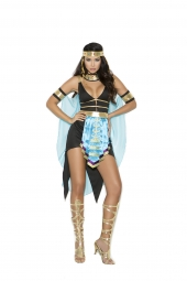 Elegant Moments 99073 Queen Of The Nile Costume - 3 Pc