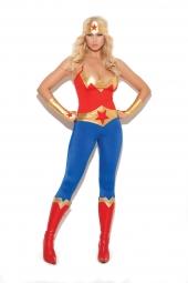 Elegant Moments 9964 Super Hero Costume - 5 Pc