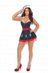 Elegant Moments 9967 Sailor'S Delight Costume - 2 Pc