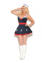Elegant Moments 9967 Sailor'S Delight Costume - 2 Pc
