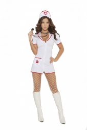 Elegant Moments 9971 Head Nurse Costume - 2 Pc