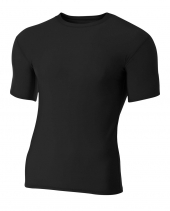 A4 N3130 Short Sleeve Compression Crew