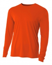 A4 N3165 Cooling Performance Long Sleeve Crew
