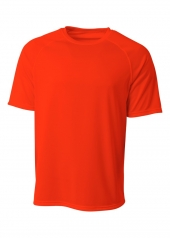 A4 N3393 SureColor Short Sleeve Cationic Tee For Adult Size Male