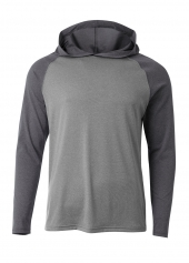 A4 N3416 Topflight Hooded Tee For Adult Size Male