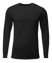 A4 N3425 Sprint Long Sleeve Tee For Adult Size Male