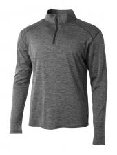 A4 N4010 Inspire Quarter Zip T-Shirt
