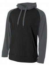 A4 N4234 Color Block Tech Fleece Hoodie For Adult Size Male
