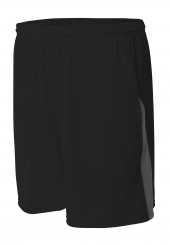 A4 N5005 Color Block Pocketed Short
