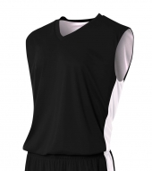 A4 NB2320 Reversible Moisture Management Muscle Tee For Youth Size Boys