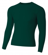 A4 NB3133 Youth Long Sleeve Compression Crew For Youth Size Boys