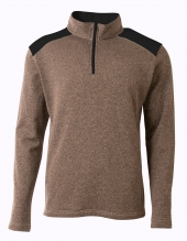 A4 NB4094 Youth Tourney Fleece Quarter Zip