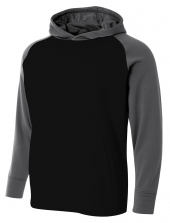 A4 NB4234 Color Block Tech Fleece Hoodie For Youth Size Boys