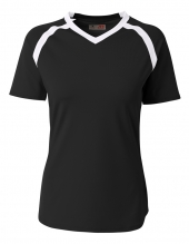 A4 NG3019 Youth Ace Short Sleeve Volleyball Jer For Youth Size Girls