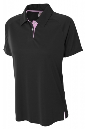 A4 NW3293 Contrast Polo