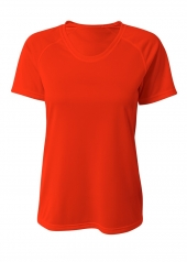 A4 NW3393 SureColor Short Sleeve Cationic Tee For Adult Size Female