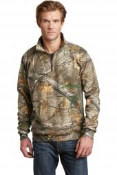 Russell Outdoors RO78Q Realtree 1/4-Zip Sweatshirt
