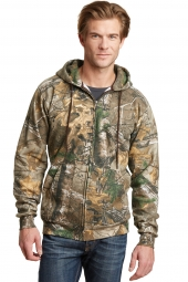 Russell Outdoors RO78ZH Realtree Full-Zip Hooded Sweatshirt