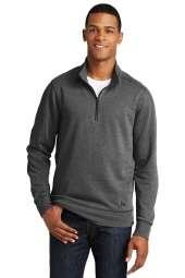 New Era Tri-Blend Fleece 1/4-Zip Pullover. NEA512