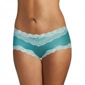 Isle Green w/Blue Spearmint Lace