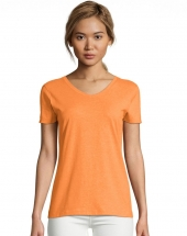 Neon Orange Heather