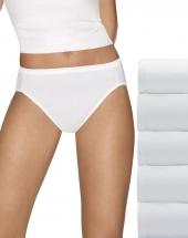 Hanes Ultimate™ Comfort Cotton Hi-Cut Panties