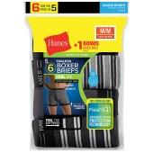 Hanes Men's FreshIQ™ ComfortSoft® Boxer Briefs Bonus Pack