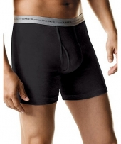 Hanes Men's TAGLESS Boxer Brief with Comfort Flex® Waistband Bonus Pack