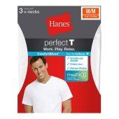 Hanes ComfortBlend® Men's Perfect T V-Neck Undershirt