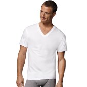 Hanes Fresh IQ Cotton/Modal V-Neck