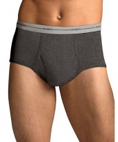 Hanes Men's TAGLESS® ComfortSoft® Full Rise Dyed Brief with Comfort Flex® Waistband Bonus Pack