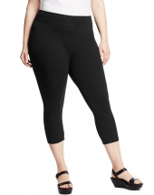 Just My Size Stretch Cotton Women's Capri Leggings