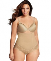Maidenform Firm Foundations Curvy Hi Waist Brief
