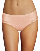 Pirouette Ivory Pink Dot