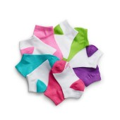 Hanes Girls' Low-Cut EZ Sort® Socks