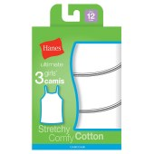 Hanes Ultimate™ TAGLESS® Cotton Stretch Girls' Cami