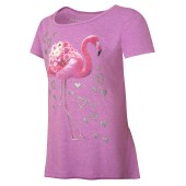 Pink Flamingo/Raspberry Shock Heather