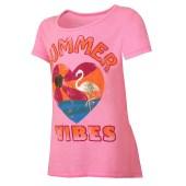 Summer Vibes/Neon Pink Pop Heather