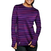 Warm Multi Blurred Stripe