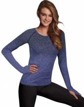 Navy Ombre Heather