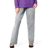 Just My Size ComfortSoft® EcoSmart® Fleece Open-Hem Women's Sweatpants, Average Length