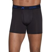 Dyed/Prints X-Temp Performance poly Boxer Brief Bonus