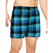 Hanes Men's TAGLESS® Ultimate Fashion Boxer with Comfort Flex® Waistband Pattern Blues
