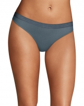 Maidenform Sport Heathered Micro Thong