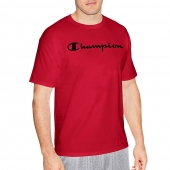 Champion Men Graphic Jersey Tee - Script