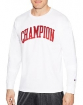 Champion Men Classic Jersey L/S Tee-Graphic - Tall Arch
