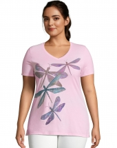 JMS Dragonfly Ascending Short Sleeve Graphic Tee